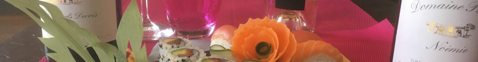 Jeudi soir c'est Sushi au Domaine Puech
