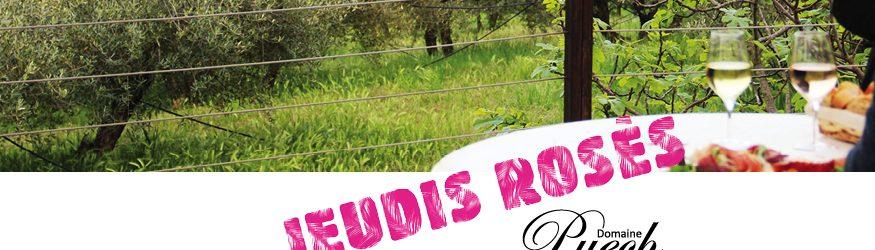 Les Jeudis Rosés du Domaine Puech